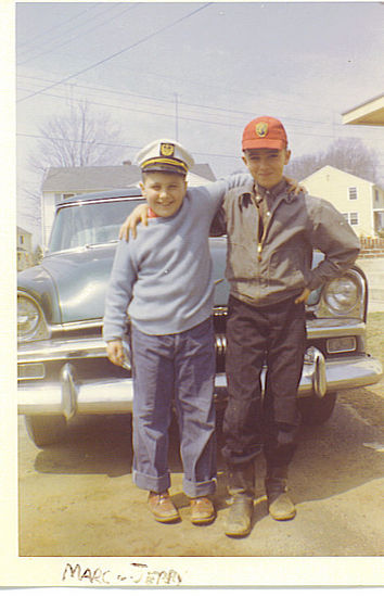Marc Catone and Jerry Lefebvre 1960