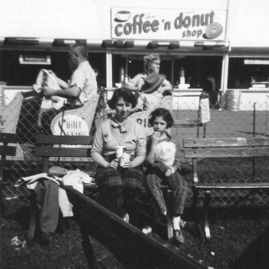 Mom and Sara at Danbury Fair